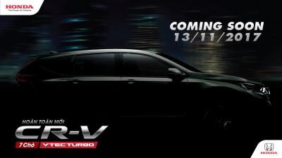 Honda CR-V thế hệ thứ 5 hoàn toàn mới sắp được ra mắt