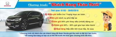 Honda Việt Nam triển khai Chương trình Dịch vụ