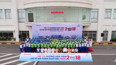 Honda Ôtô Tây Hồ vinh dự đạt giải nhất LXAT trong Hội thi