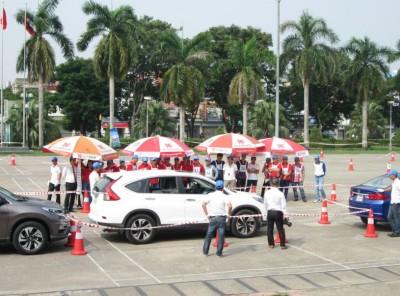Honda Việt Nam phối hợp với hệ thống Đại lý ôtô đẩy mạnh hoạt động đào tạo lái xe an toàn