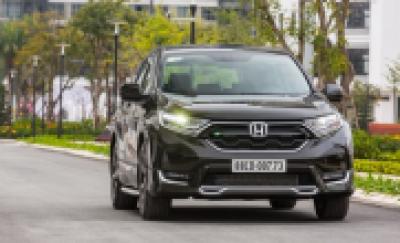 Honda Việt Nam công bố mức giá mới cho CR-V thế hệ thứ 5
