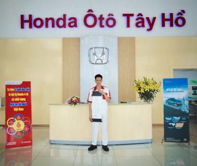 Honda Ô tô Tây Hồ là đại diện đầu tiên và duy nhất cho HVN tham dự Cuộc thi tay nghề Honda thế giới