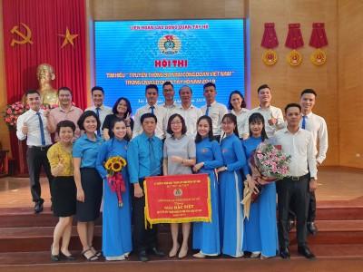 Honda  Ôtô Tây Hồ đạt giải Đặc biệt Hội thi tìm hiểu 90 năm Công đoàn Việt Nam