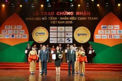 Tập đoàn BRG được vinh danh trong Top 10 Nhãn hiệu nổi tiếng nhất Việt Nam 2019
