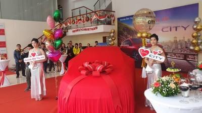 Lễ ra mắt Honda City hoàn toàn mới